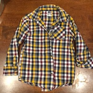 Other - Plaid kids button down!!!